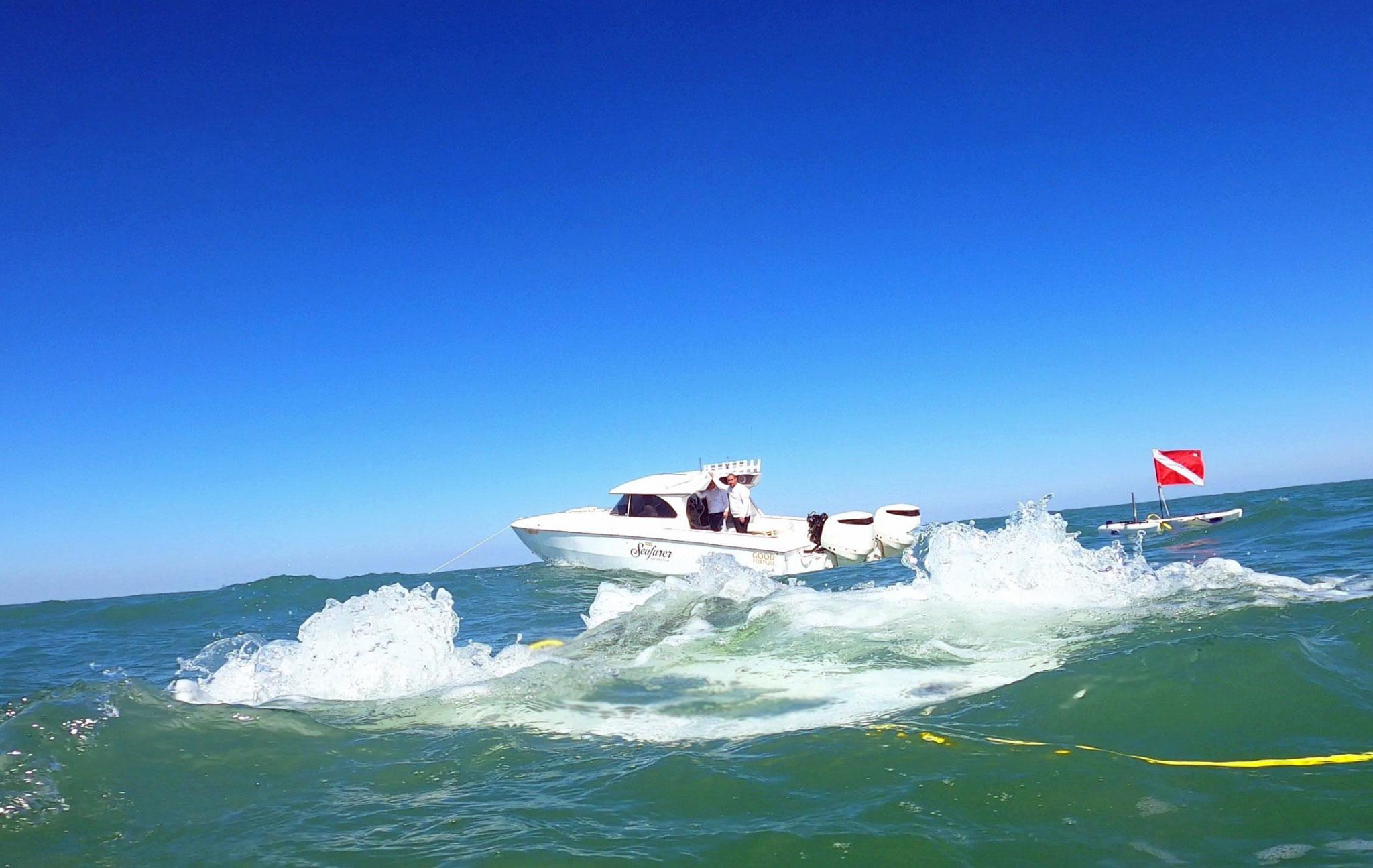 Testing The SeaSeacher In The Field