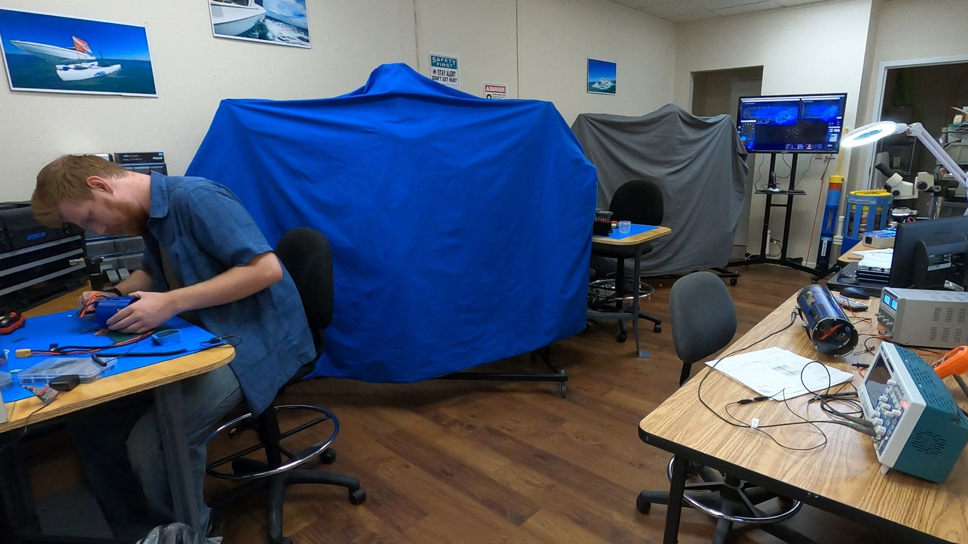 A Look Inside The SeaSearcher Lab